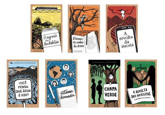 Literatura infanto-juvenil. Coleção Ecoar, ed. Garamond.